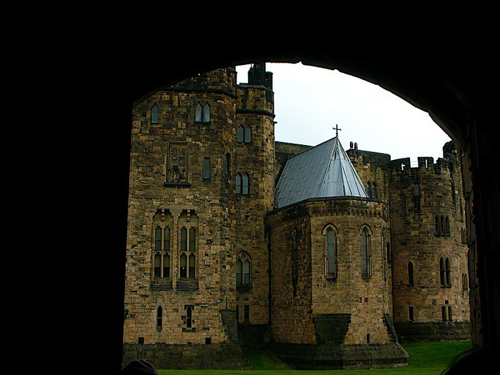 Замок Гарри Поттера - Замок Алник - Alnwick Castle 85691