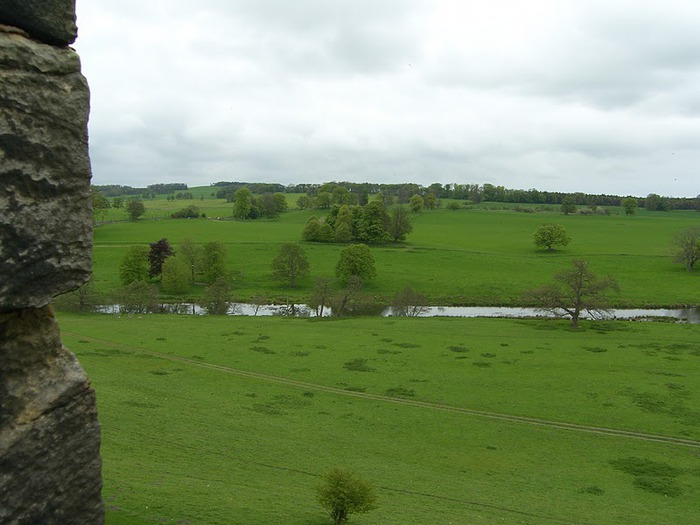 Замок Гарри Поттера - Замок Алник - Alnwick Castle 20052