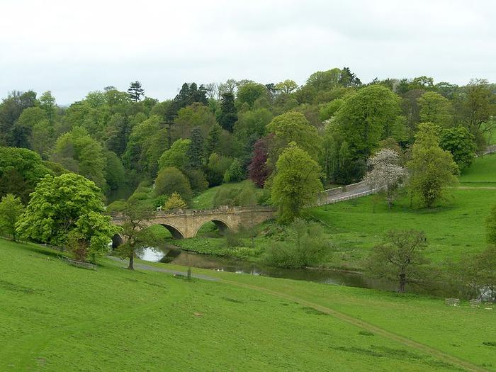 Замок Гарри Поттера - Замок Алник - Alnwick Castle 62684
