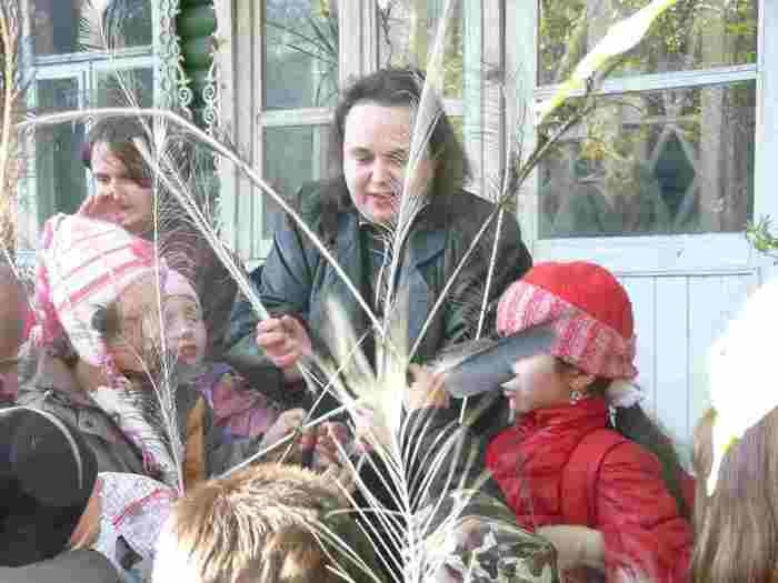 Экскурсия в приют для птиц окончена