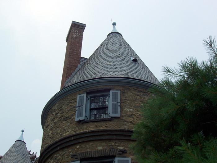 Замок Грей Тауэрс в Гленсайде 29462
