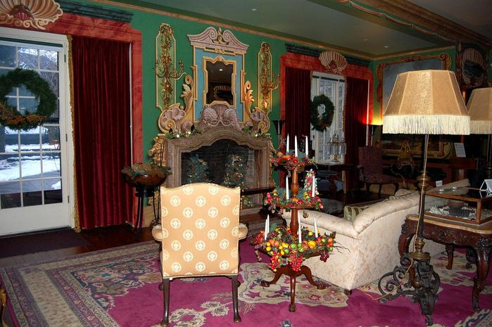 Замок Грей Тауэрс в Гленсайде 58791