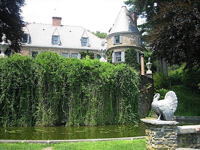 Замок Грей Тауэрс в Гленсайде 84392