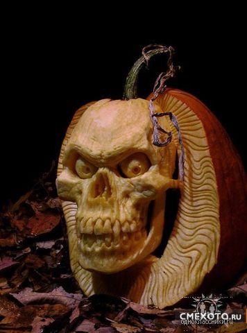 Блюда- страшилки на Хэллоуин.