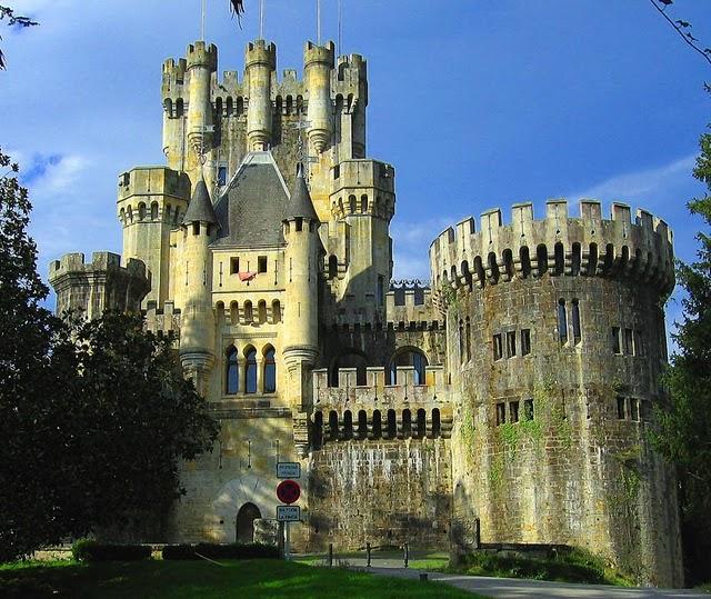 Замок Бутрон (Castillo de Butron). Испания 26468