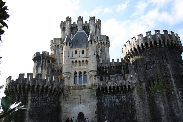 Замок Бутрон (Castillo de Butron). Испания 63527