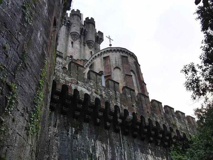 Замок Бутрон (Castillo de Butron). Испания 15626