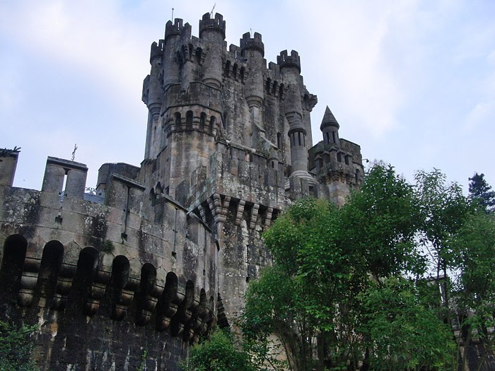 Замок Бутрон (Castillo de Butron). Испания 21091
