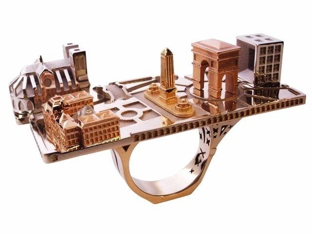 Архитектура в кольцах Филиппа Турнера 6