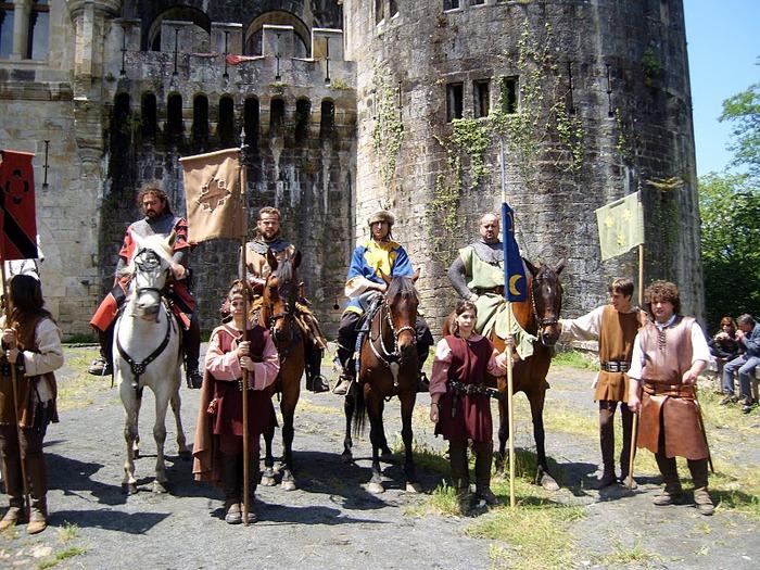 Замок Бутрон (Castillo de Butron). Испания 42139