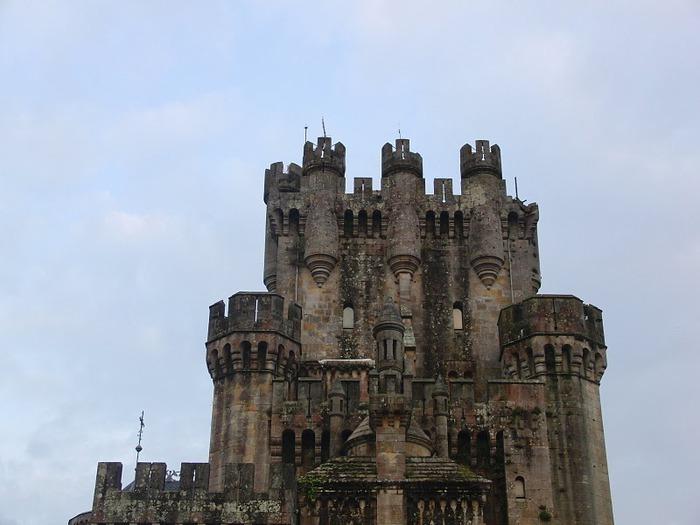 Замок Бутрон (Castillo de Butron). Испания 28612