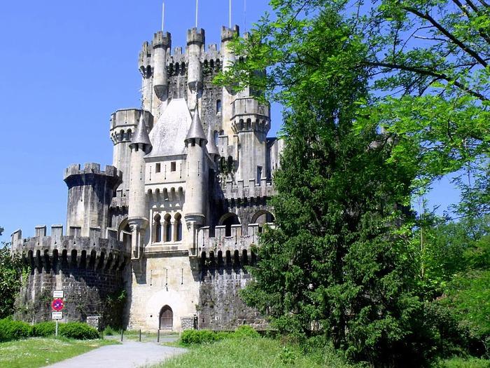 Замок Бутрон (Castillo de Butron). Испания 30472