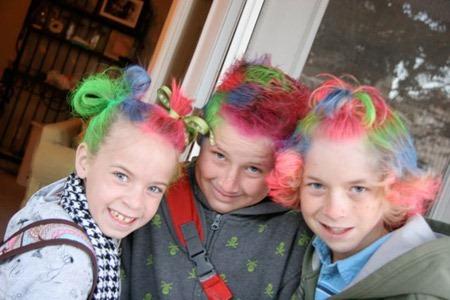13 прикольных причёсок 3