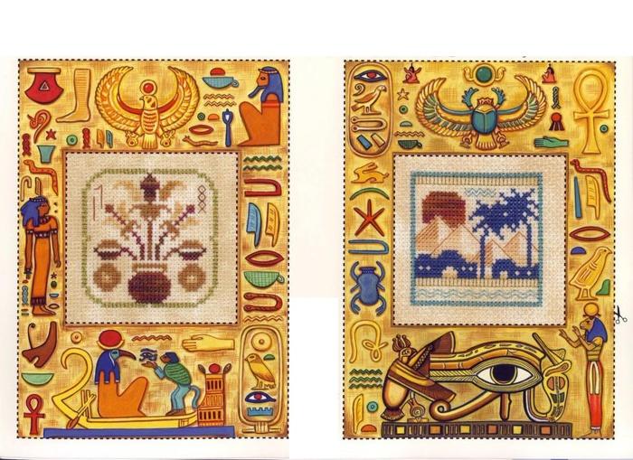 Египетские мотивы.