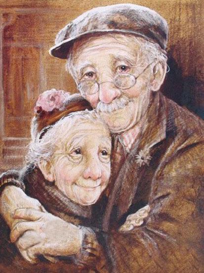 старики (413x551, 87 Kb)