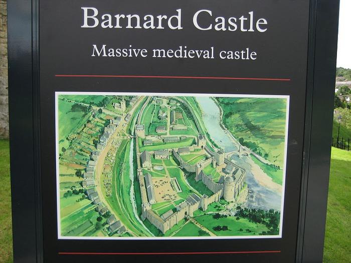 Barnard Castle - Замок Барнард 57478