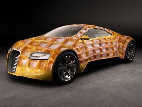 Съедобный автомобиль