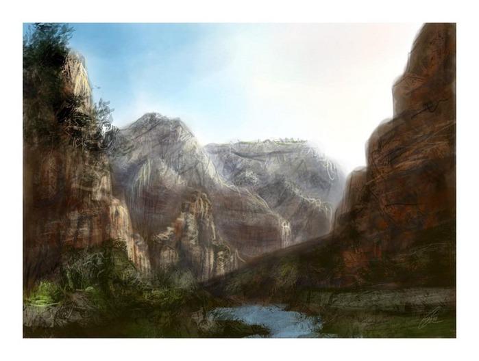 Великолепные пейзажи Джона Мортимера 4
