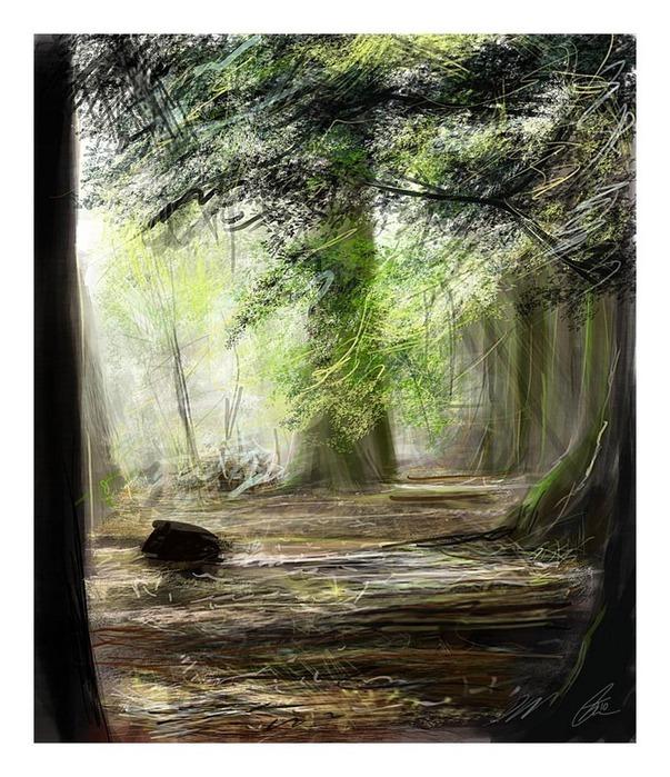 Великолепные пейзажи Джона Мортимера 10