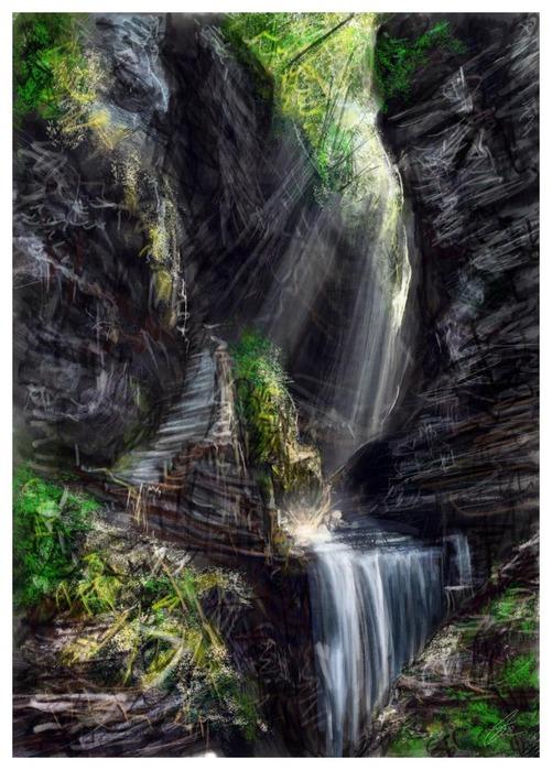 Великолепные пейзажи Джона Мортимера 11