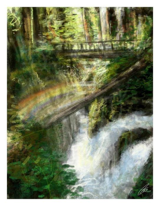 Великолепные пейзажи Джона Мортимера 13