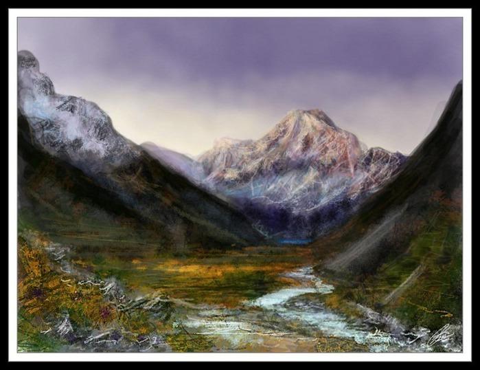Великолепные пейзажи Джона Мортимера 15