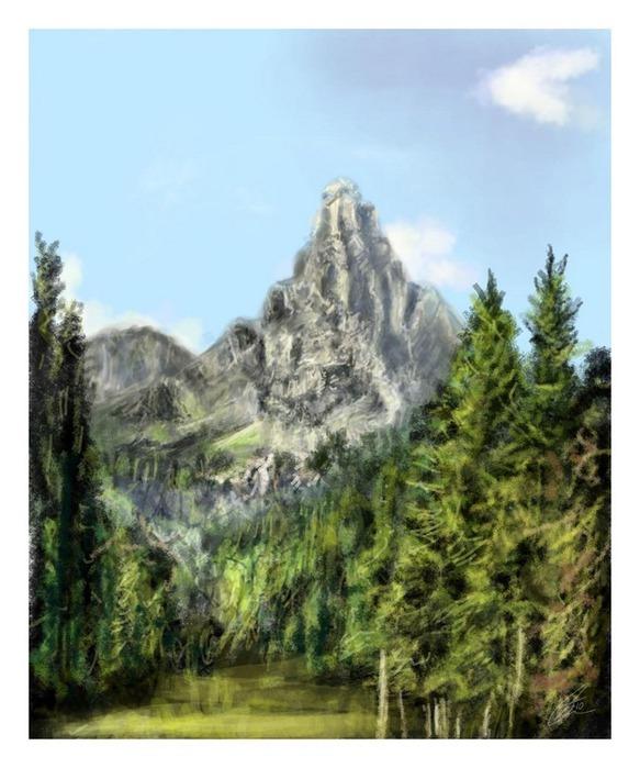 Великолепные пейзажи Джона Мортимера 17