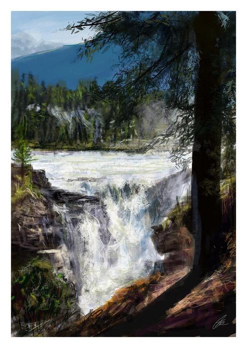 Великолепные пейзажи Джона Мортимера 31