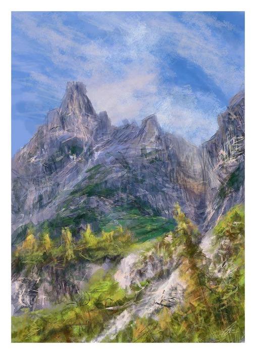 Великолепные пейзажи Джона Мортимера 32