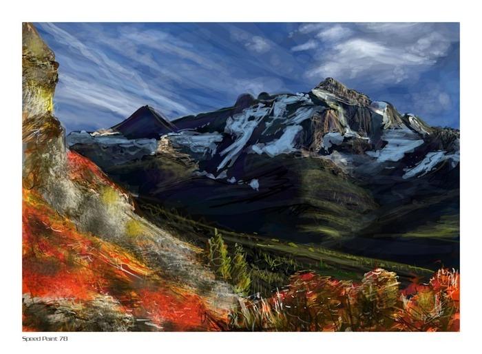 Великолепные пейзажи Джона Мортимера 136