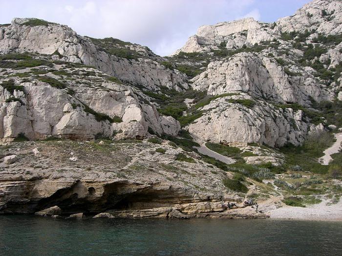 Les Calanques-Каланки - французскии фьорды. Марсель . 89577