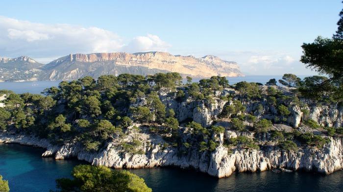 Les Calanques-Каланки - французскии фьорды. Марсель . 29075