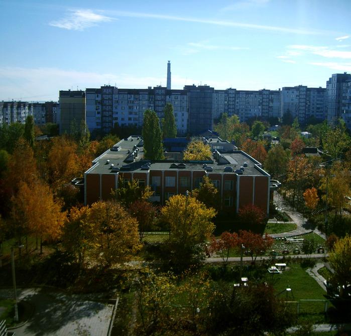 осень, кишинёв