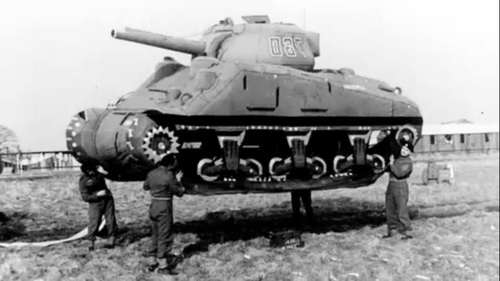 танк резиновый надувной американский 1944 года