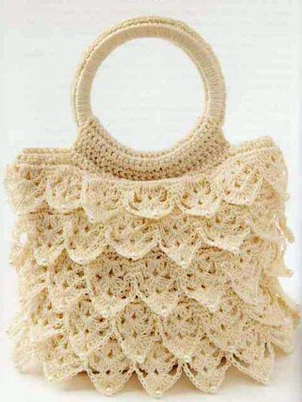 Схемы для вязания: сумки.