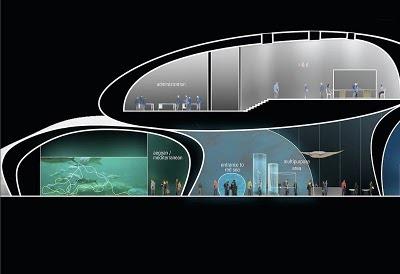 Проект аквариума в Батуми 10