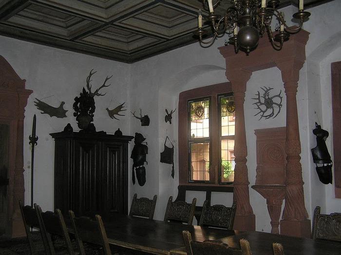 Замок Mespelbrunn. 62081