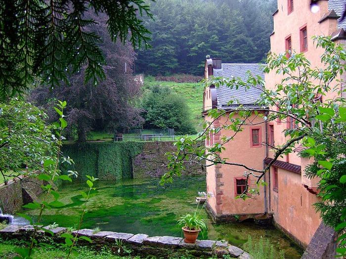 Замок Mespelbrunn. 74908