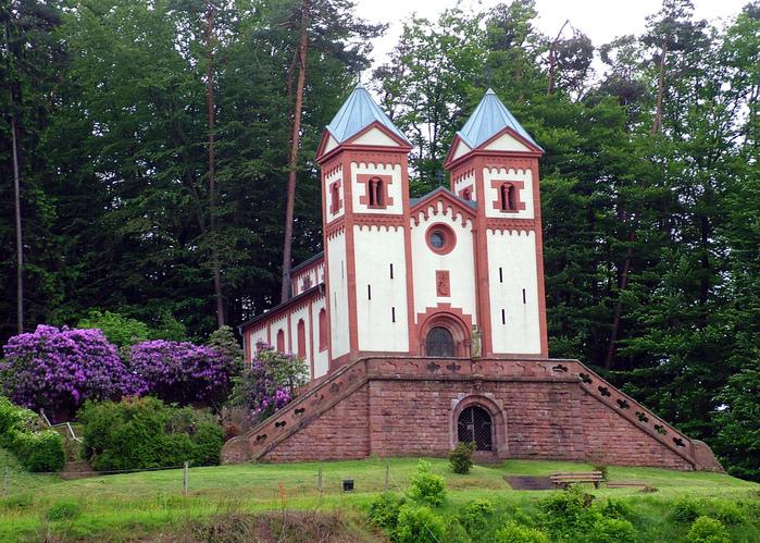 Замок Mespelbrunn. 48247