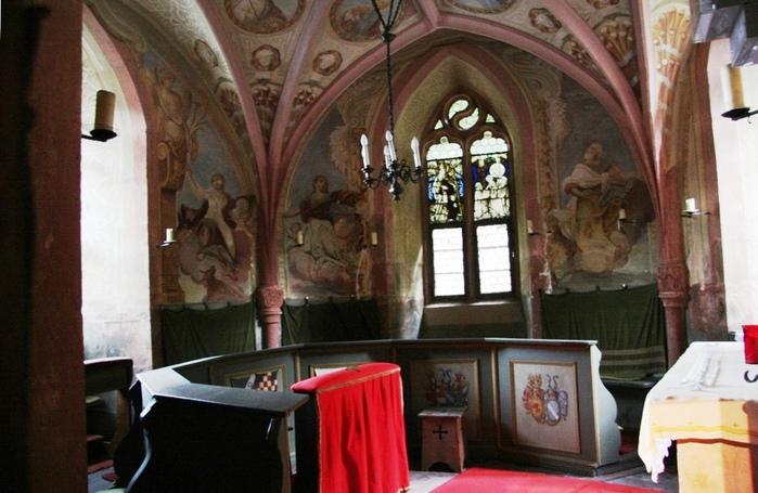 Замок Mespelbrunn. 88666