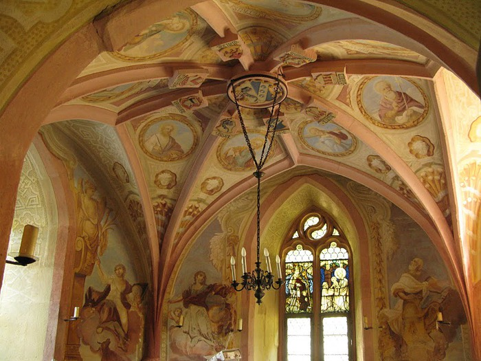 Замок Mespelbrunn. 54181