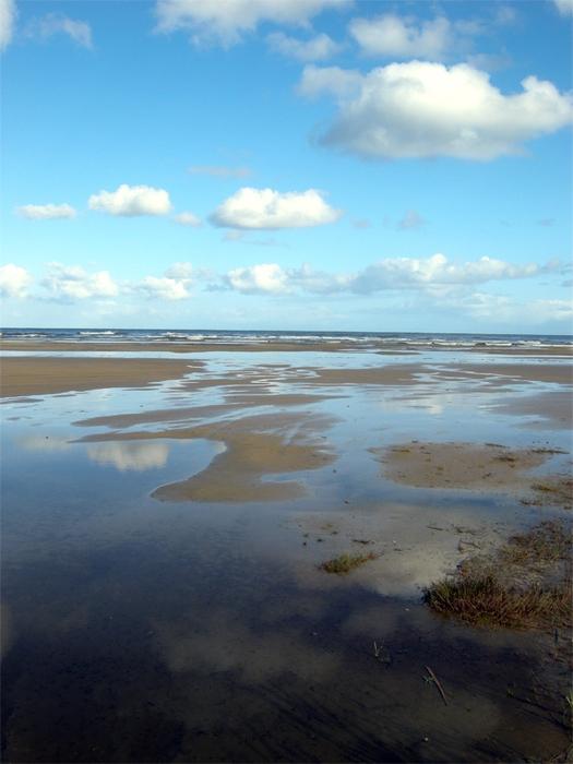 Пляж в Ютландии - www.strokin.ru/