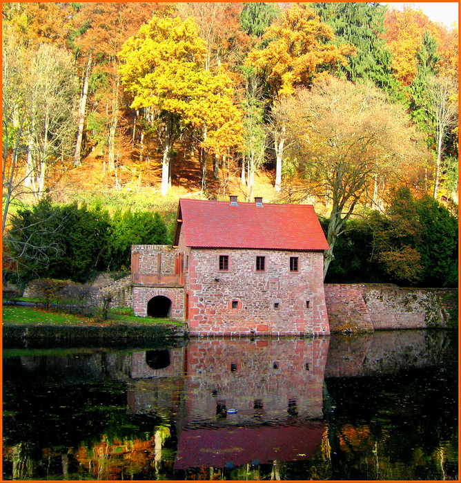 Замок Mespelbrunn. 91273