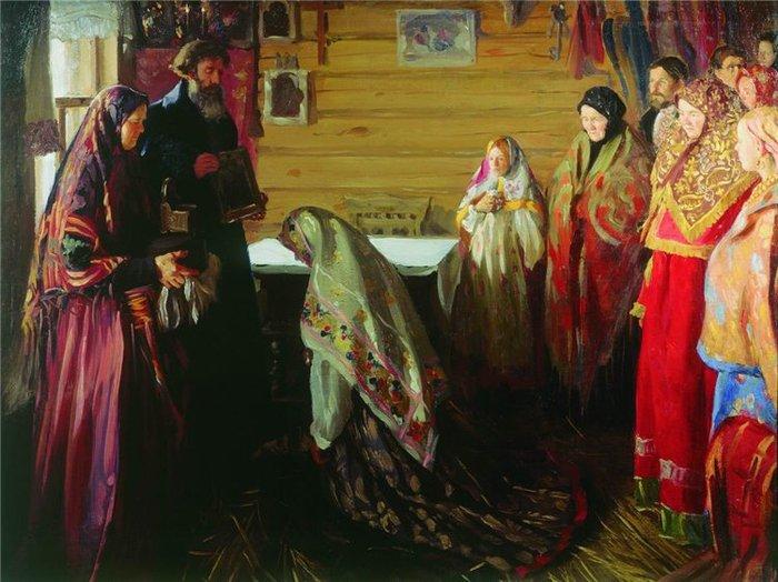 В боярском тереме. (1906-1907)
