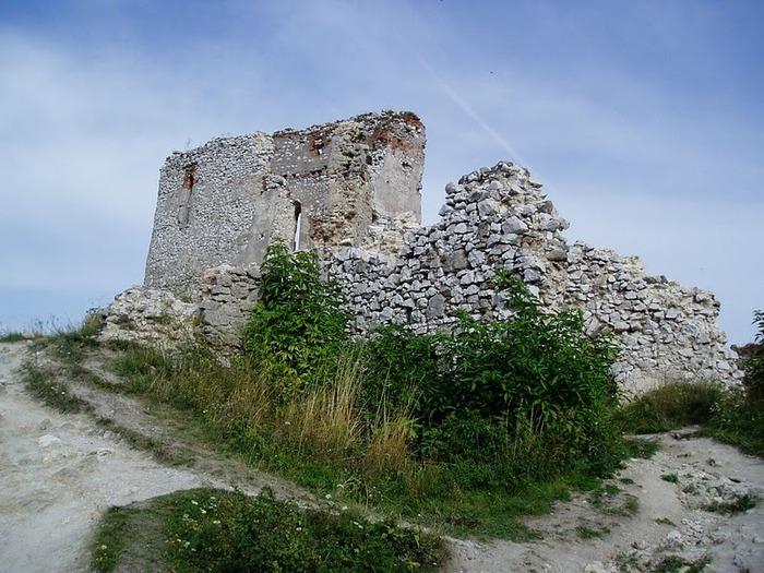 Чахтицкий замок (Cachtice castle) -замок Кровавой Графини. 34835