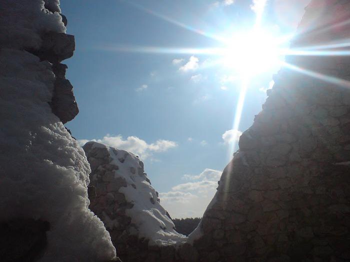 Чахтицкий замок (Cachtice castle) -замок Кровавой Графини. 83361