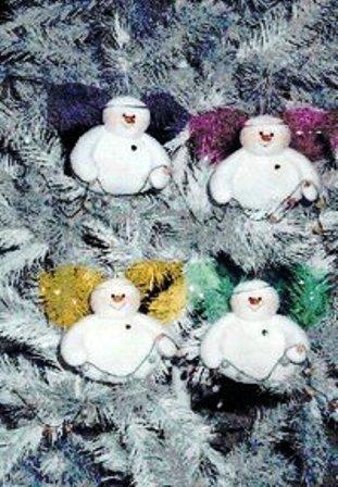 снеговик с выкройкой