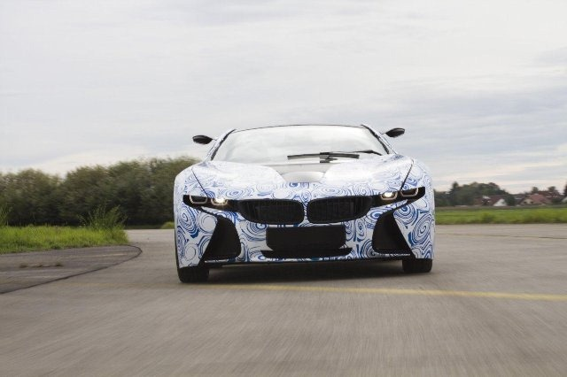 BMW Vision EfficientDynamics под  гжель 3