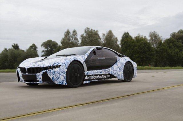 BMW Vision EfficientDynamics под  гжель 5