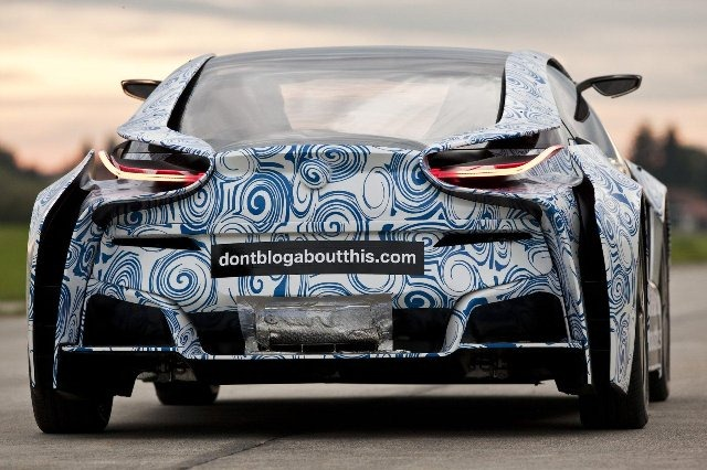 BMW Vision EfficientDynamics под  гжель 8